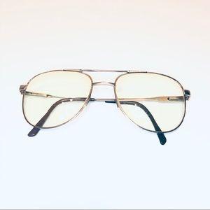 Vintage Polo Oversized Glasses Frames Metal 145MM